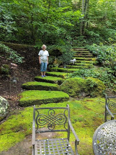 jerry on steps, smokey mountain estate.jpg